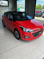 Hyundai i20 blue 1.2 YES!+